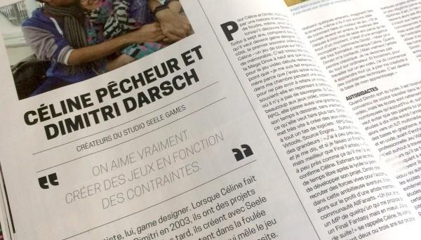 Interview dans le JV mag n° 61!